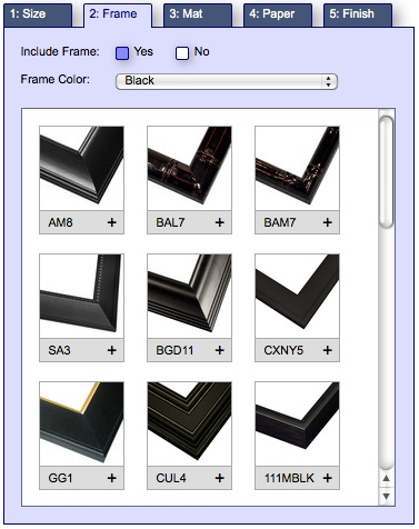 frame style